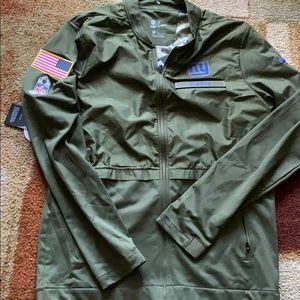 Nike Jackets & Coats - New Nike Salute to Service NY Giants Jacket